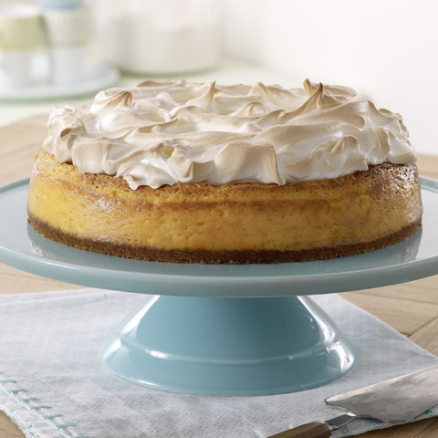 Lemon Meringue Cheesecake Recipe