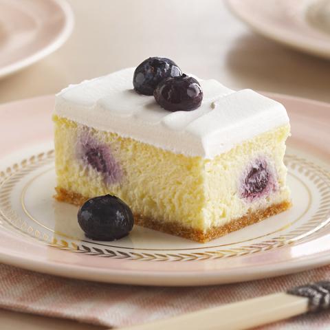 Dessert crémeux au citron et aux bleuets NILLA Recipe