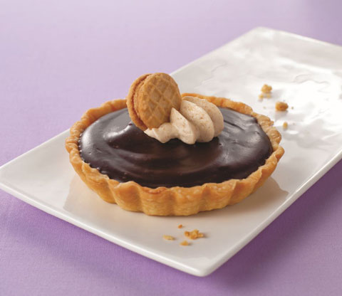 Chocolate Dulce de Leche Tarts with NUTTER BUTTER Recipe