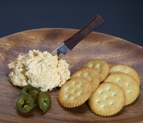 Three-Pepper Spread with RITZ Recipe