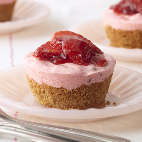Individual Strawberry Cups Recipe