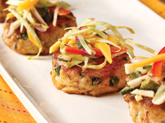 Latin-Style Crab Cake Appetizer with PREMIUM Saltines Recipe