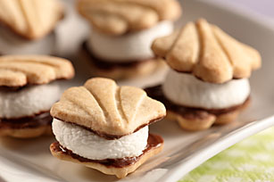 Fudge Petites S'mores Recipe