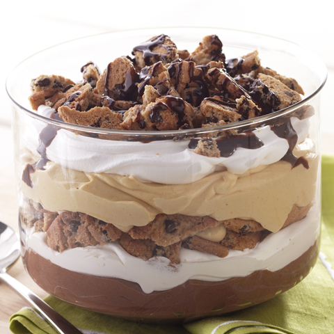 CHIPS AHOY! Peanut Butter-Chocolate Trifle Recipe