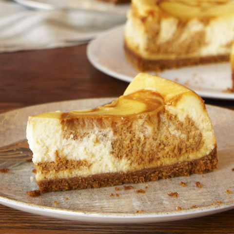 Dulce de Leche Swirl Cheesecake Recipe