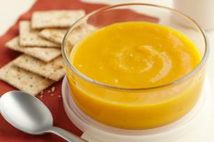 Soupe à la courge, au gingembre et à l'orange recette