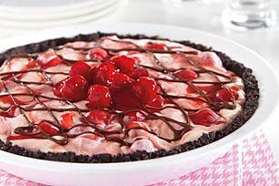 Cherry-Vanilla Ice Cream Pie Recipe