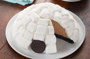 Igloo en mousse au chocolat recette
