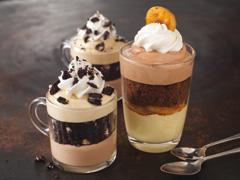 Chocolate & Coffee Mousse Mini Parfaits with OREO Recipe