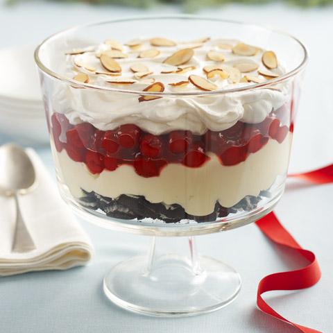 Cherry-Almond Trifle Recipe