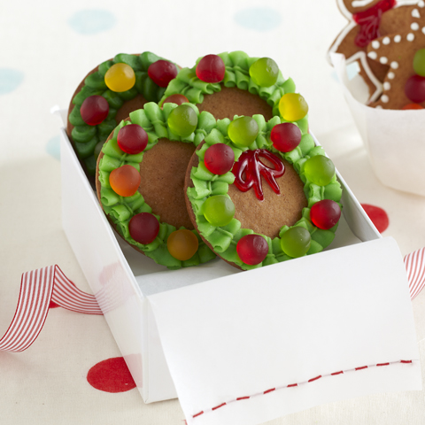 Gingerbread Wreaths Recipe