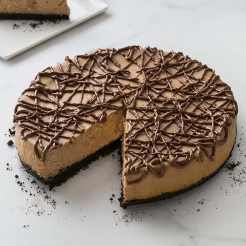 Gâteau au fromage au chocolat au lait recette