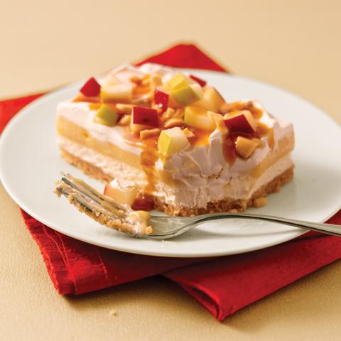 Dessert pomme-caramel NILLA Recipe