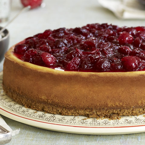 Cranberry-Cinnamon Cheesecake Recipe