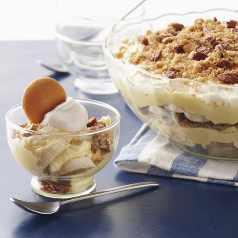Deep-Dish Layered Banana Pudding Recipe