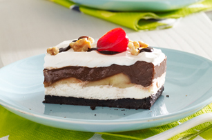 Chocolate-Banana Split Dessert Recipe