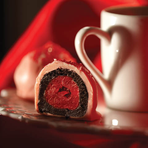 OREO-Cherry Cookie Balls Recipe