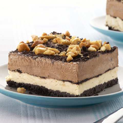 Peanut-Chocolate Mud Pie Squares Recipe