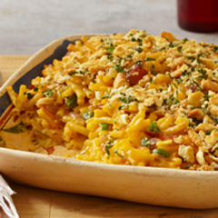 Jalapeño Macaroni & Ham Bake Recipe