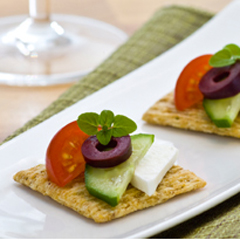 TRISCUIT à la salade grecque recette