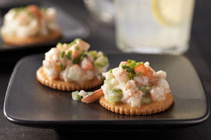 Southern Shrimp Salad RITZ Toppers Recipe