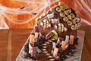 Gâteau « Maison hantée » recette
