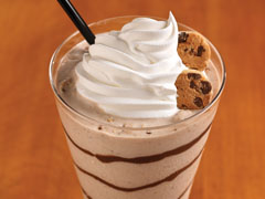 Chocolate Chip Cookie Milkshake made with CHIPS AHOY! Cookies Recipe