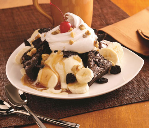 Brownie Sundae with OREO Recipe