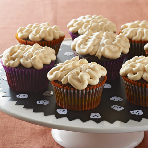 Gooey Brain Cupcakes Recipe