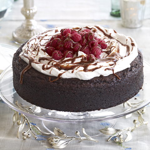Double-Chocolate Treasure Cake Recipe