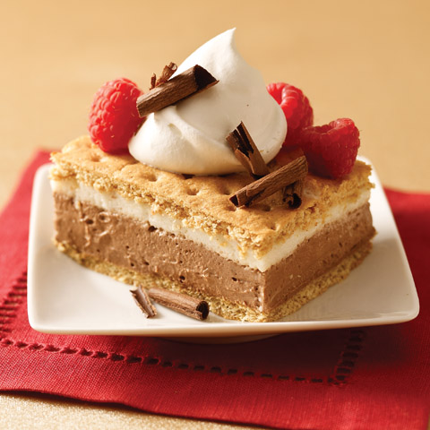 S'mores Pudding Dessert Recipe