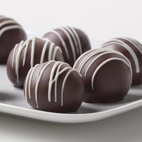 Triple-Chocolate Cookie Balls Recipe