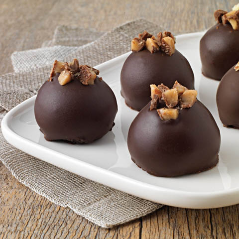 Toffee Cookie Balls Recipe