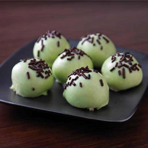 Boules de biscuits OREO à la menthe recette