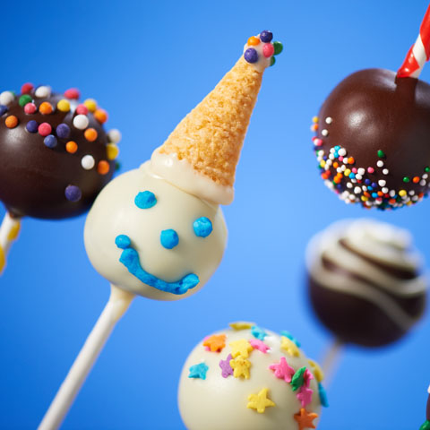 OREO Celebration Cookie Ball Pops Recipe