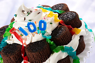 OREO Birthday Cupcake Cake Recipe