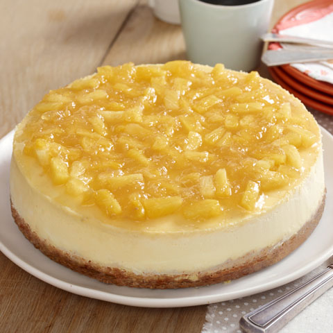Pineapple-Topped New York Cheesecake Recipe