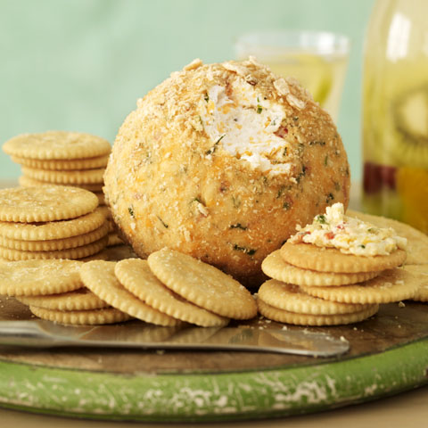 Mexican-Style Party Cheese Ball Recipe
