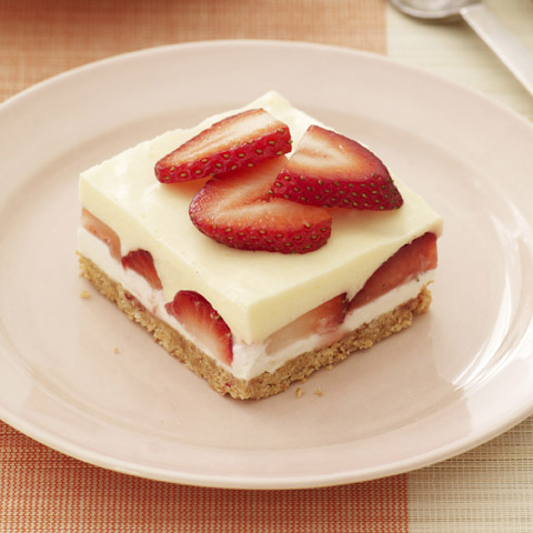 Creamy Layered Lemon Squares Recipe