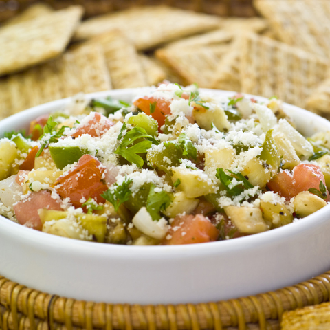 TRISCUIT Ratatouille Dip Recipe
