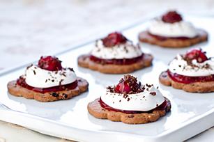 Petits gâteaux de la Forêt-Noire recette