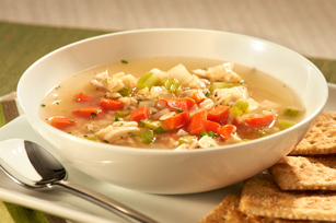 Turkey-Rice Soup Recipe