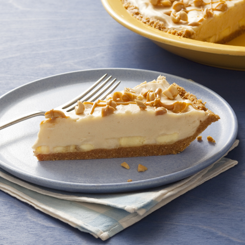 Creamy PB & Banana Pie Recipe