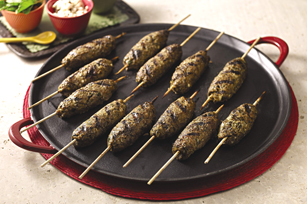 Lamb Seekh Kababs Recipe