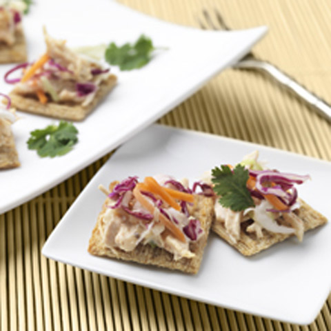 Spicy Chicken & Slaw Toppers Recipe