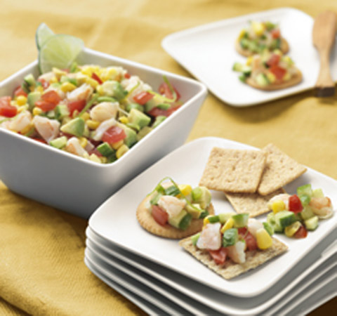 Avocado-Shrimp Salsa Recipe