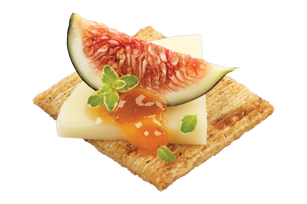 TRISCUIT Fig & Gouda Topper Recipe