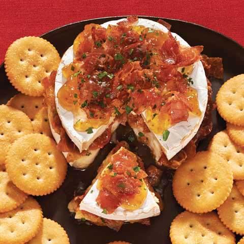 Fig & Prosciutto-Stuffed Brie Recipe