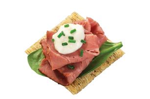 Roast Beef & Horseradish Topper Recipe