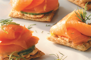 Smoked Salmon Topper Recipe